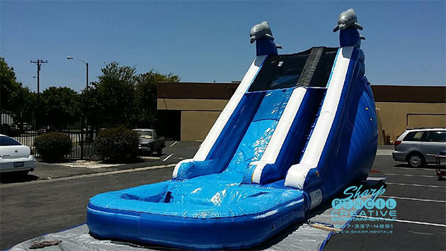 inflatable party slide for rent in Westbrook, Maine