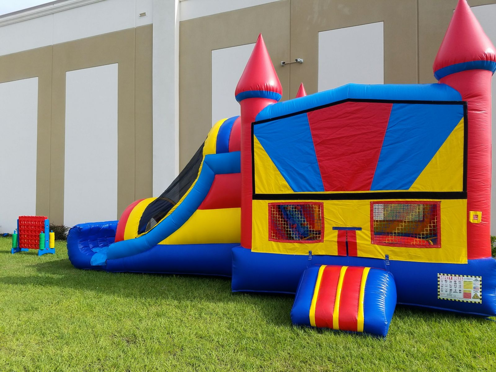 bounce houses rent inflatables concessions games tents
