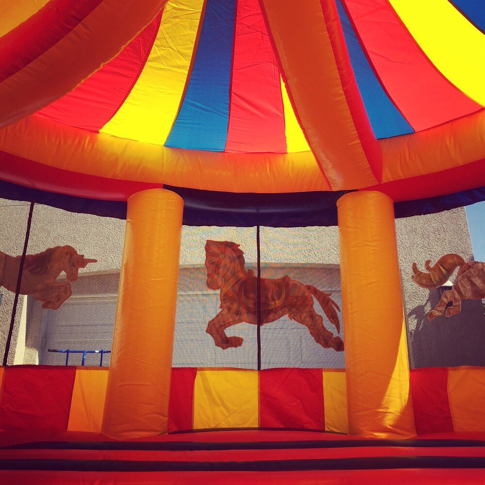 Carousel Bounce House