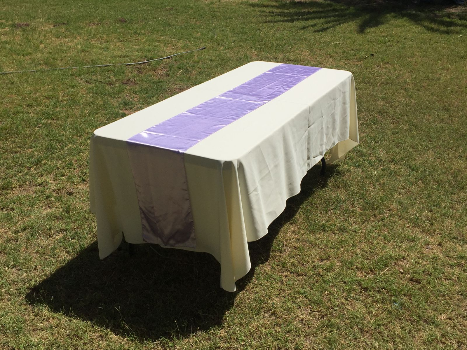 Lavender Table Runner