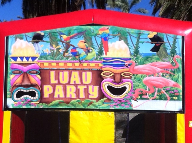 Tropical Luau Party Theme