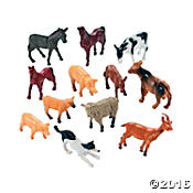 Farm Animal Toy Prizes