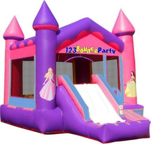 Princess Castle Combo-Bounce, Climb, Slide