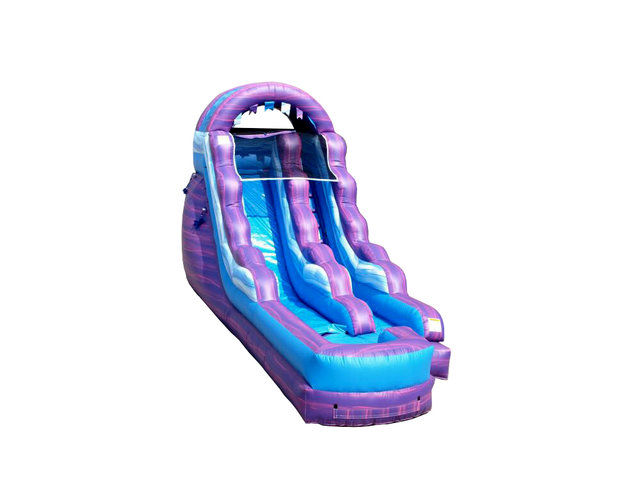 Cotton candy 16 foot slide