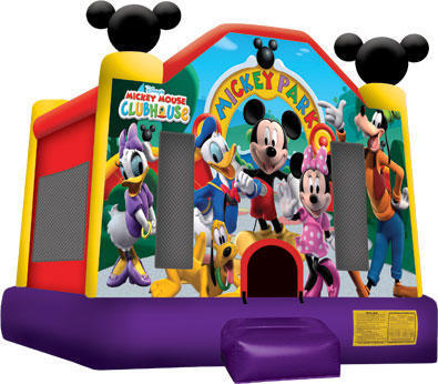 Mickey Mouse Bounce House 13x13