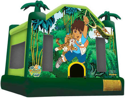 Diego bounce house