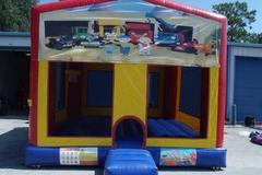 Bob the builder bounce house