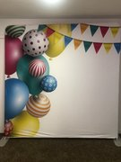 Party ballons back drop
