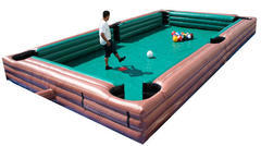 Pool Table inflatable game