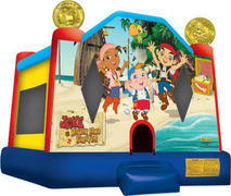 Jake and the neverland Pirates bounce house