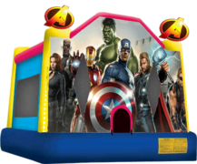Advengers bounce house