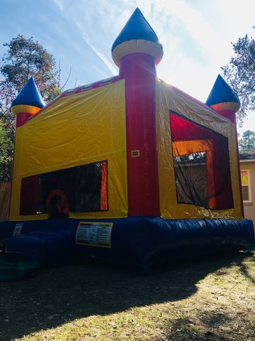 Modern Castle Bounce House #4 #5