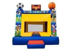 Sports Fan Bounce House #2