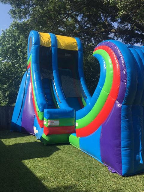 Rampage Water Slide Rental Abouttobounce Com New Orleans La