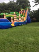 27 Ft. Tropical water Slide with slip and slide