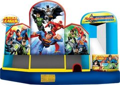 A-Justice League 5in1 Inflatable Bounce House Combo