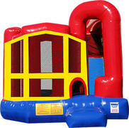 3in1 Inflatable Bounce House Combo
