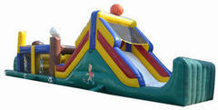 49ft. Inflatable obstacle course