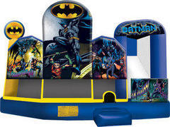 Batman 5in1 Inflatable Bounce House Combo Water Slide