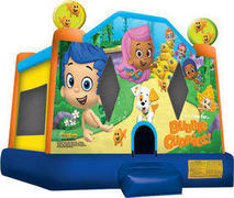 A-Bubble Guppies Inflatable bounce house