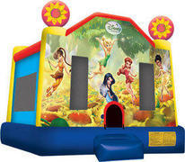 A-Disney Fairies Inflatable bounce house