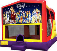World Of Disney 4in1 Inflatable bounce house combo