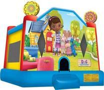 A-Doc McStuffins bounce house