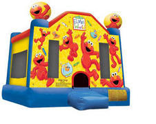 A-Elmo Inflatable bounce house
