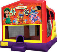 Lilo & Stitch 4in1 Inflatable bounce house combo