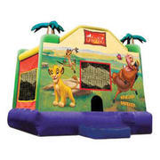 A-Lion King Inflatable bounce house