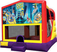Looney Toons 4in1 Inflatable bounce house combo