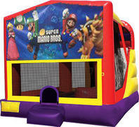 Super Mario Brothers 4in1 Inflatable bounce house combo