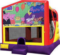 Peppa pig 4in1 inflatable bounce house