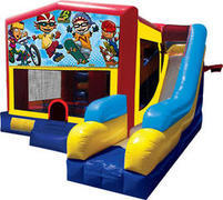 Rocket Power Inflatable combo 7in1