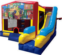 Sesame Street. Inflatable combo 7in1