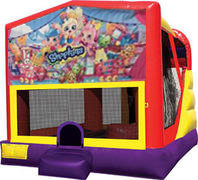 Shopkins 4in1 inflatable bounce house