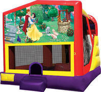 Snow White 4in1 Inflatable bounce house combo