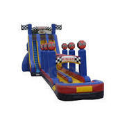 27Ft. Twin Turbo double lane water slide