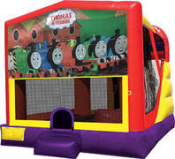 Train 4in1 Inflatable bounce house combo