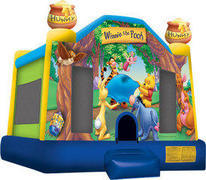 Winnie the Pooh Inflatable bounce house