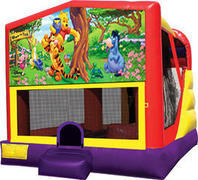 Winnie The Pooh 4in1 Inflatable bounce house combo