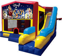 World Of Disney Inflatable combo 7in1