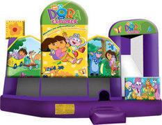 A-Dora the Explorer 5in1 Inflatable bounce house combo