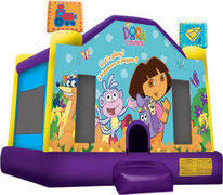 Dora The Explorer Inflatable bounce house