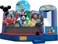 A-Mickey Mouse park 5in1 Inflatable bounce house combo