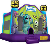 A-Monsters Inc Inflatable bounce house