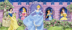 DISNEY PRINCESS PANEL