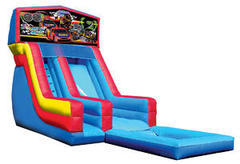 Z-Race Cars water slide