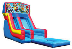 Z-Rocket Power water slide