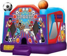 A-Sports 4in1 Inflatable bounce house combo(FULL)